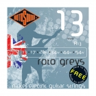 R13 Finest Quality Roto Grey Heavy 13-54 Strings + Free Extra 1st String!