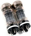 NOS Matched Pair/Duet of Mesa Boogie 6L6 STR440 Vacuum Tubes in Box - Grey or Yellow Pairs