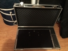 "Fantastic Trailer Trash Pro Pedalboard 28"" x 16\"" including NCP Flight Case"