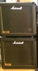 Superb Ported Marshall 1912 1 x 12 Speaker Cabinet with Mesa Black Shadow MC90