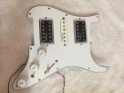Fully Loaded Scratchplate with Kinman Professionally Wired US Patent HSH PickUps
