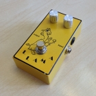 Red Llama Clone Guitar Effect Pedal - Very Good Condition. From Overdrive to Huge Fuzz