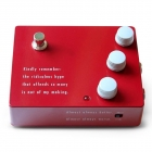 Klon KTR Centaur Overdrive Pedal for Electric Guitar in Original Box including Manual. Red Colour