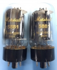 Fully Tested Marshall Shuguang 5881/6L6WGC VLVE-00083 Valves