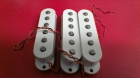 3 x Gordon Smith Single Coil PickUps in White