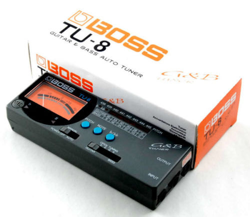 BOSS Guitar & Bass Auto Tuner TU-8 Made in Japan