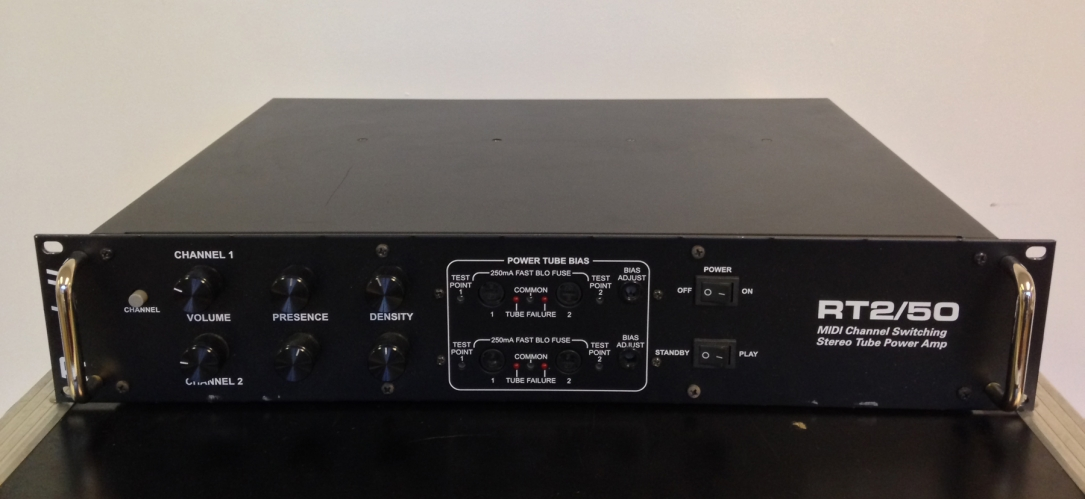 Randall RT2-50 50w/50w Stereo Tube Power Amplifier